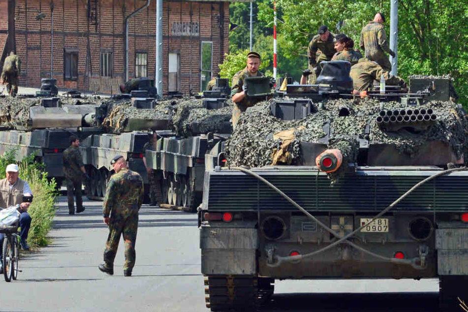 Soldaten aus Thüringen übernehmen Kommando in Litauen