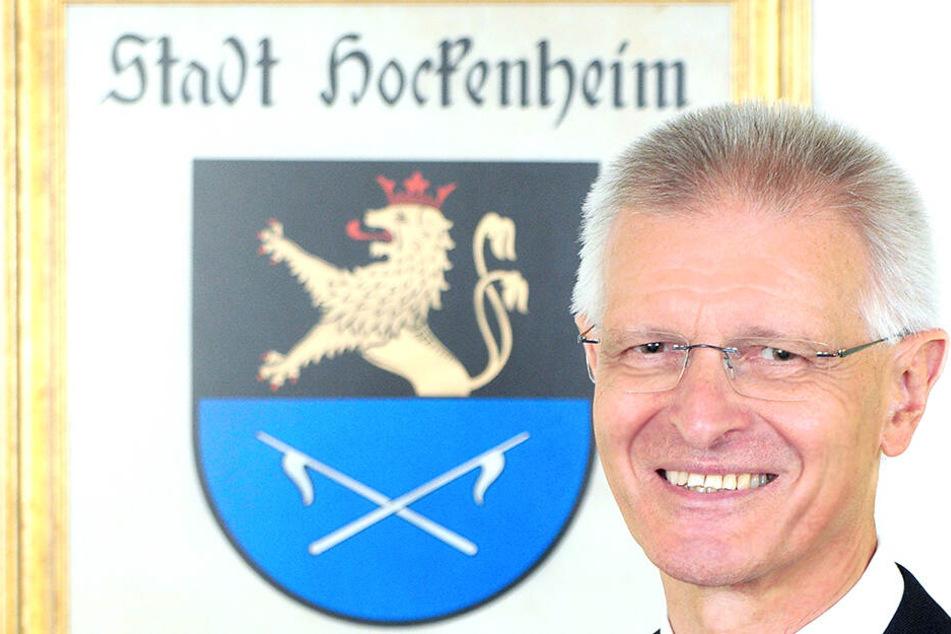 Dieter Gummer wurde an der Haustür attackiert.