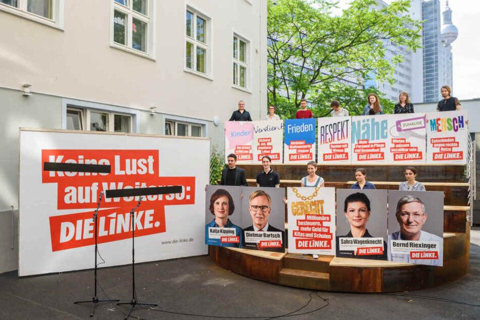 Wahlkampfhelfer beim Aufhängen von Plakat in Erfurt angegriffen
