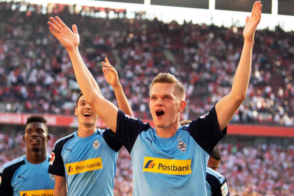 Matthias Ginter (r.) wird am Samstagabend wie gewohnt im Borussia-Park auflaufen. Diesmal allerdings nicht im Trikot von Bundesliga-Spitzenreiter Gladbach, sondern vom DFB.