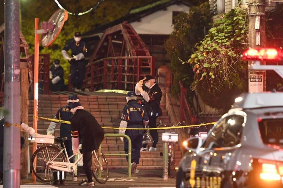 In diesem japanischen Schrein fand die Polizei drei Leichen.