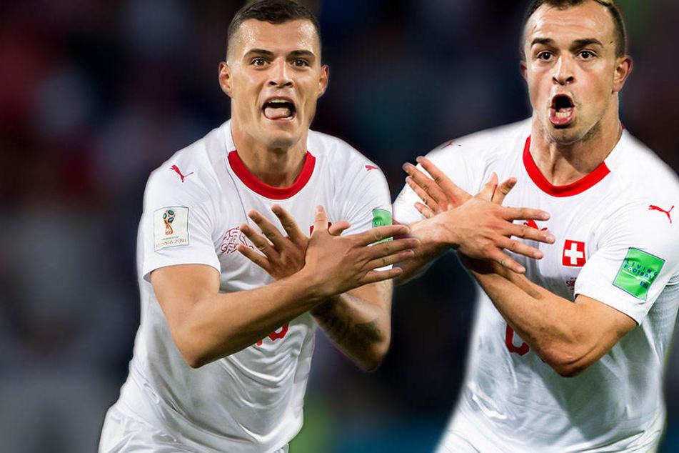 Mega-Eklat bei Schweizer Torjubel nach Sieg gegen Serbien!