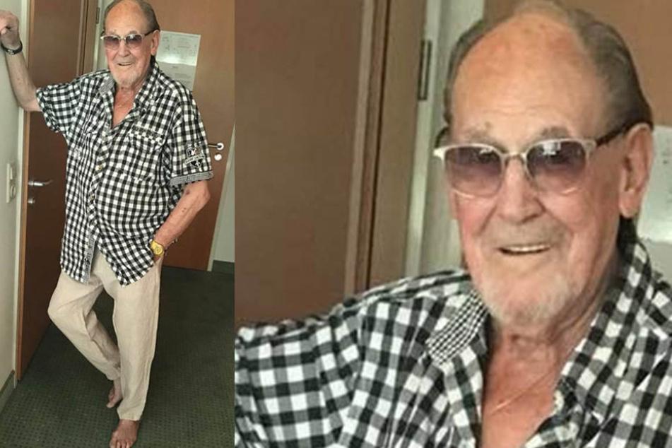 Nach seiner Herz-OP geht es Herbert Köfer (97) schon wieder ganz gut.