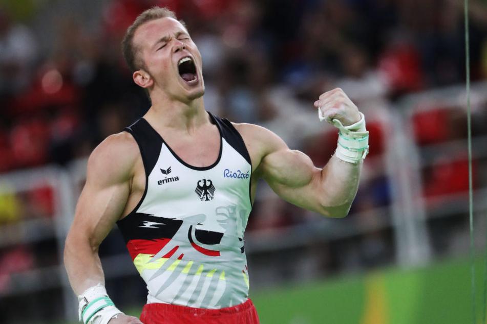 Hambüchen bei den Olympischen Spielen in Rio de Janeiro im vergangenen Jahr.