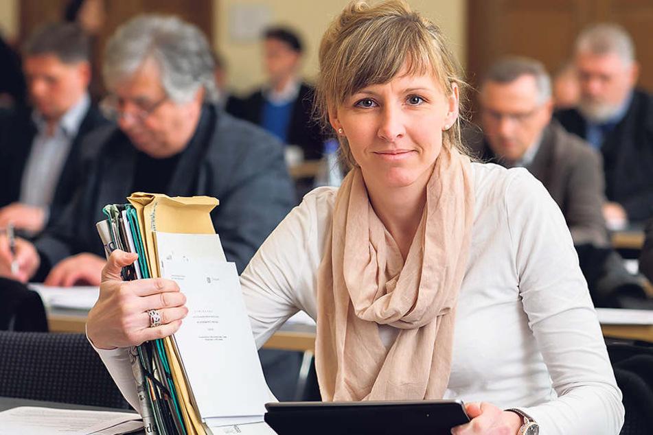 CDU-Stadträtin Anke Wagner kämpft um Extra-Millionen für den Dresdner Sport.