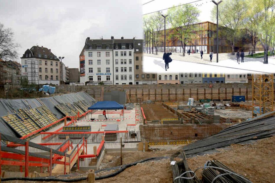 Neues Stadtarchiv in Köln: Teurer, Zeitplan in Gefahr, Baustelle beklaut