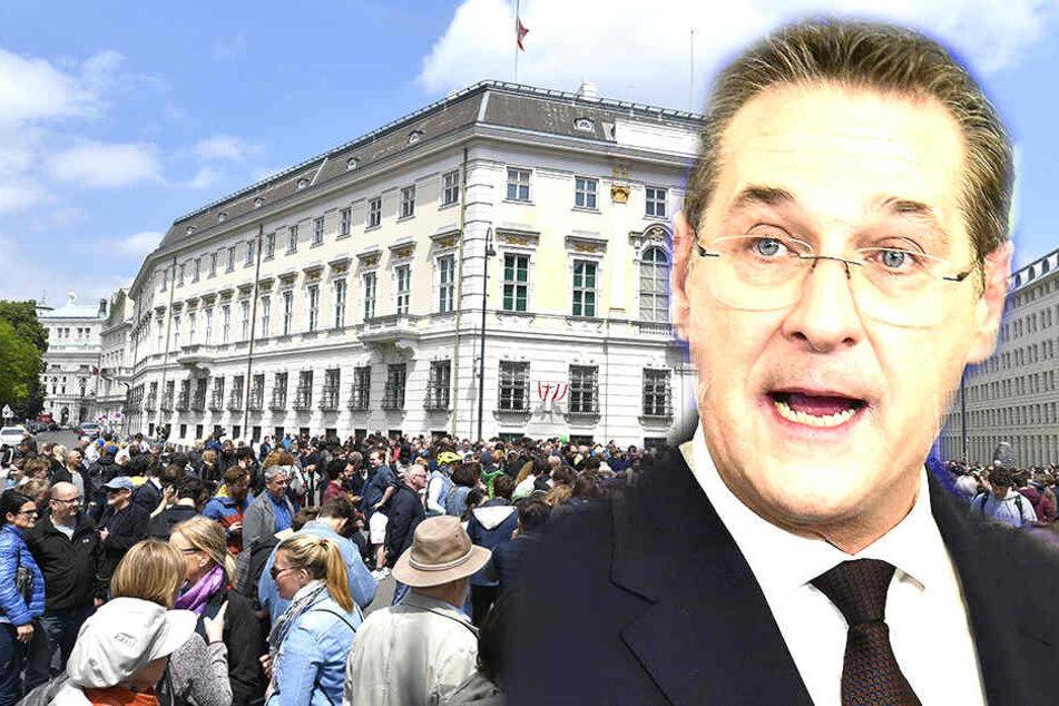 Krise in Österreich: Vizekanzler zieht Konsequenzen aus Video-Affäre