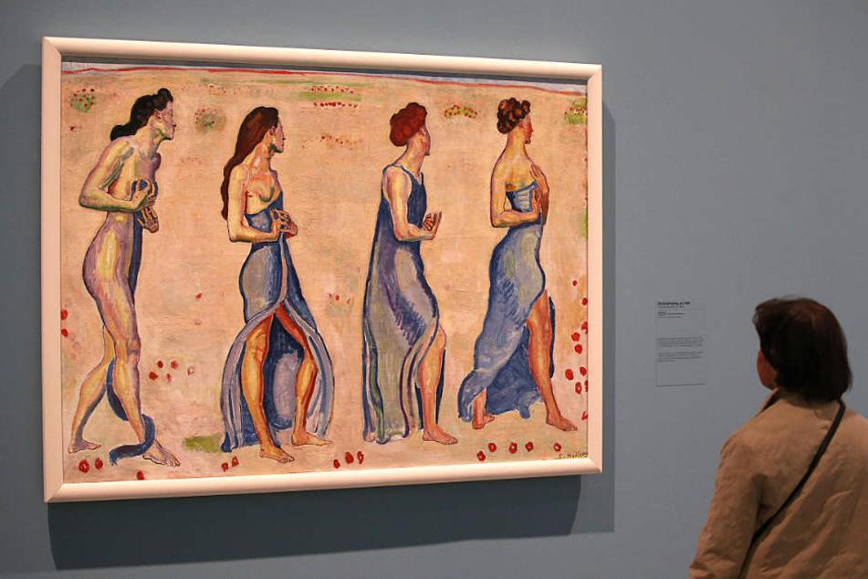 Ferdinand Hodler gilt als bekanntester Maler der Moderne aus der Schweiz (Symbolbild).