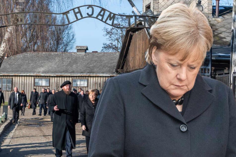 Angela Merkel besucht erstmals KZ Auschwitz