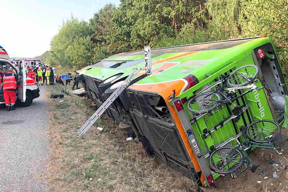 """War Übermüdung der Grund für den """"Sturz"""" des Dresdner Busses?"""