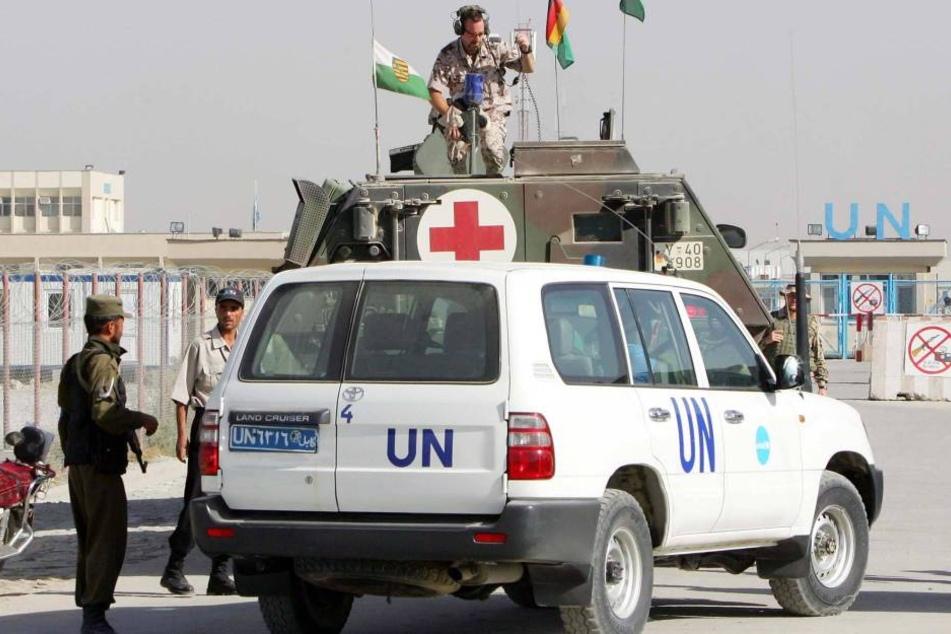 Bei einer Islamisten-Attacke auf Mitarbeiter des Internationalen Komitees vom Roten Kreuz wurden in Afghanistan sechs Menschen getötet (Symbolbild).