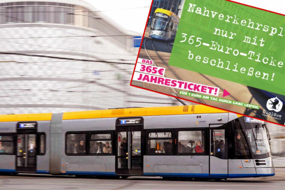 365-Euro-Ticket für Leipzig soll kommen, fehlt aber in der Planung