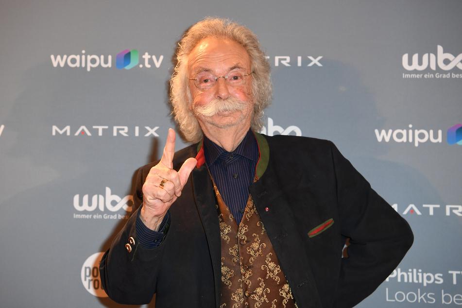 """Jean Pütz (84) ist vielen TV-Zuschauern mit seinem Satz """"Ich hab da mal was vorbereitet"""" im Gedächtnis geblieben."""