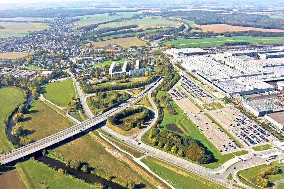 Zwickau muss für den Ausbau der B175 rund 620000 Euro nachschießen.