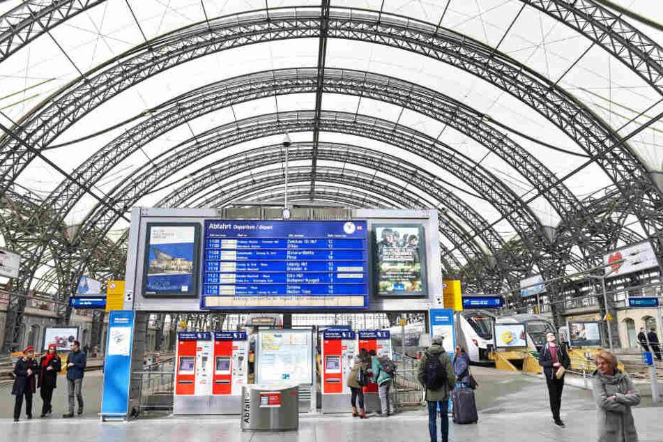 Die Struktur des Bahnhofs konnte im Wesentlichen beibehalten werden.