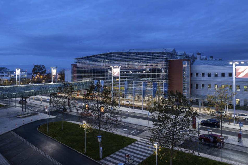 """Der Airport """"Dresden International"""" in Klotzsche hat schon jetzt mit sinkenden Passagierzahlen zu kämpfen."""