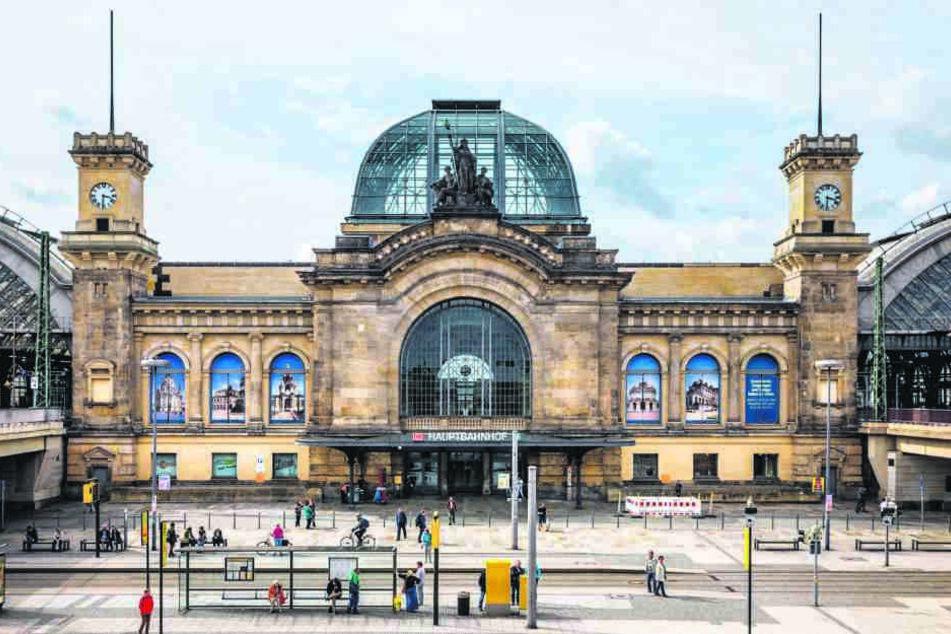 Der Dresdner Hauptbahnhof wird ab 2018 für zwei Jahre zur Baustelle.