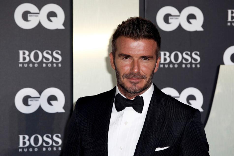 David Beckham (44) stattete der Hauptstadt am Montagabend einen Besuch ab.