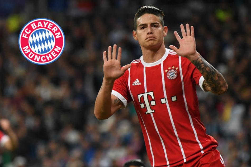 James-Rückkehr zu Real? FC Bayern hat Entscheidung wohl getroffen