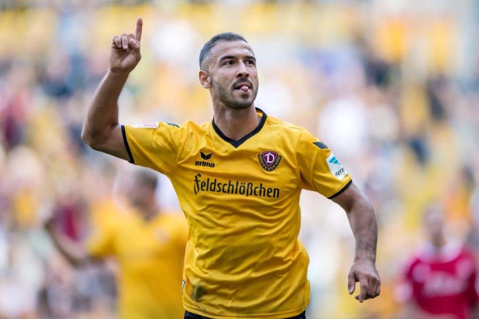 Gogia traf zum zwischenzeitlichen 2:1 für Dynamo. Den Sieg konnten die Mannen um Uwe Neuhaus jedoch nicht über die Zeit bringen.