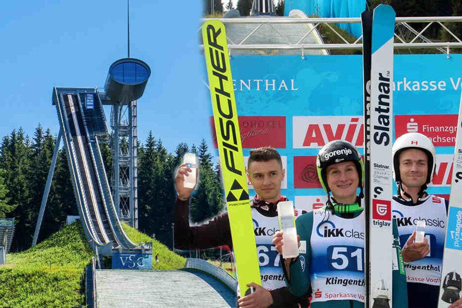 Am Wochenende kommen die Ski-Stars ins Vogtland