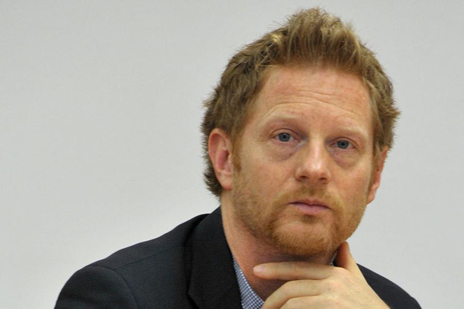Baubürgermeister Michael Stötzer (44,Grüne).