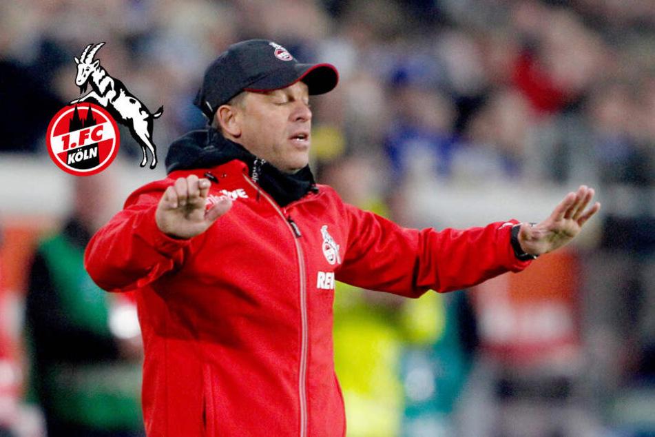 FC-Trainer Markus Anfang (44) stürmte nach dem Schlusspfiff aus dem Stadion.