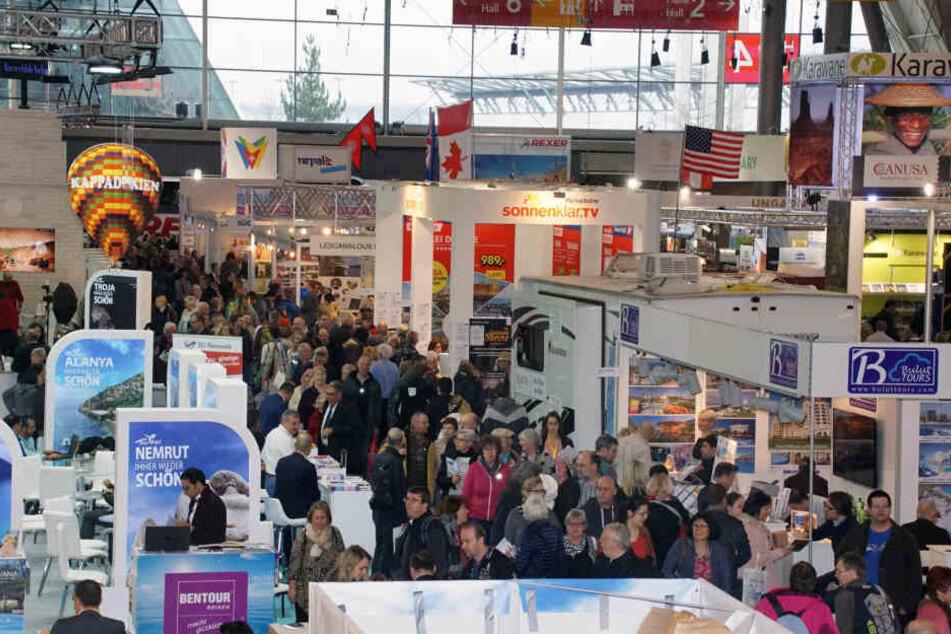 Die CMT ist die weltweit größten Publikumsmesse für Tourismus und Freizeit.