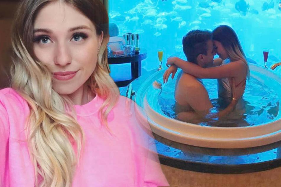 Sex im Whirlpool? Mit diesem Foto hat sich Bibi einen neuen Shitstorm eingebrockt