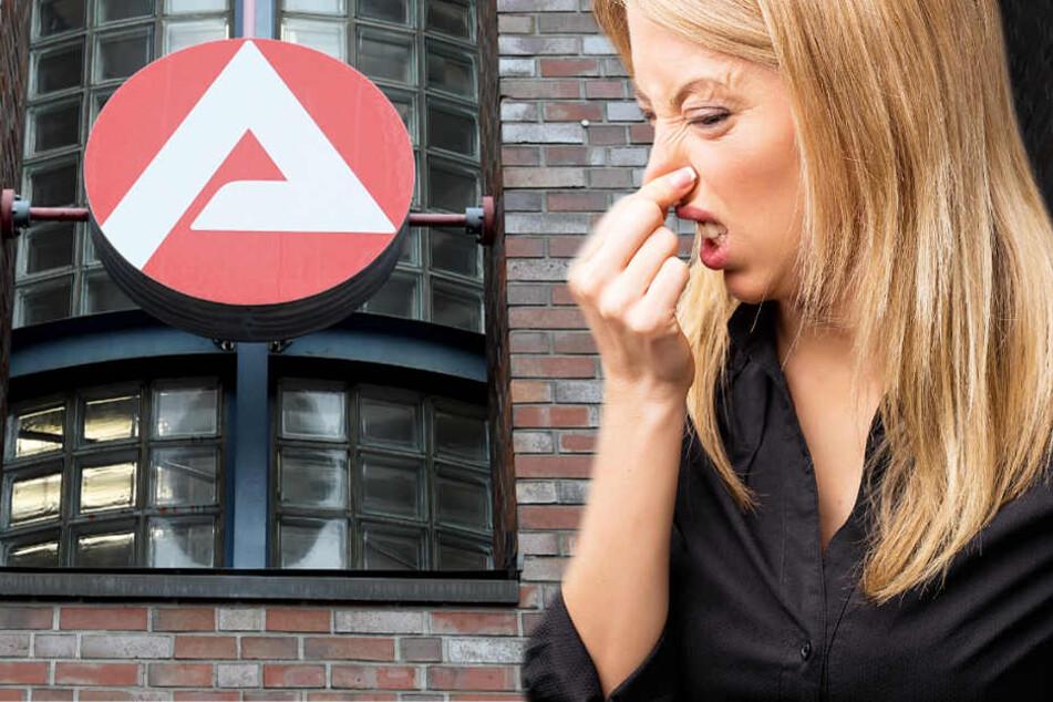 Fünf Mitarbeiterinnen der Arbeitsagentur klagten über Atemwegsreizungen und Übelkeit (Symbolbild).