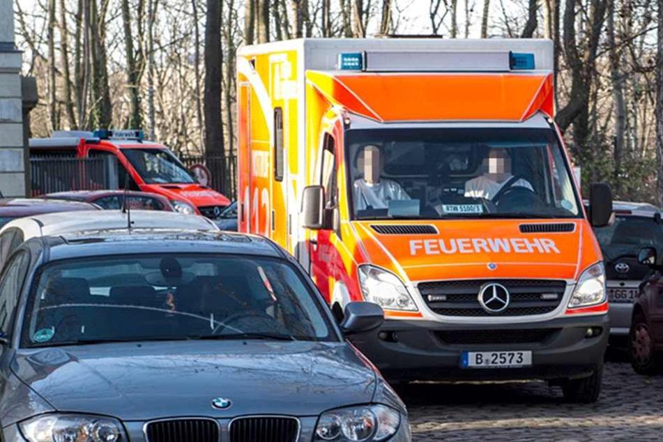 Ein Schwerverletzter kam ins Krankenhaus und musste operiert werden (Symbolbild).