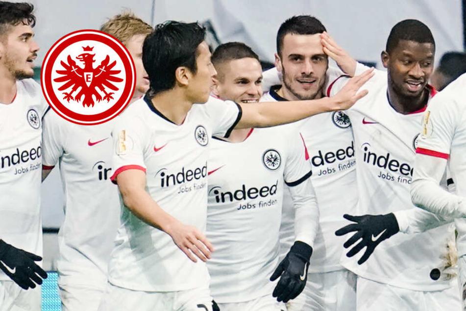 """""""Haben uns den Arsch aufgerissen"""": Eintracht-Ekstase nach Pokal-Fight gegen RB"""