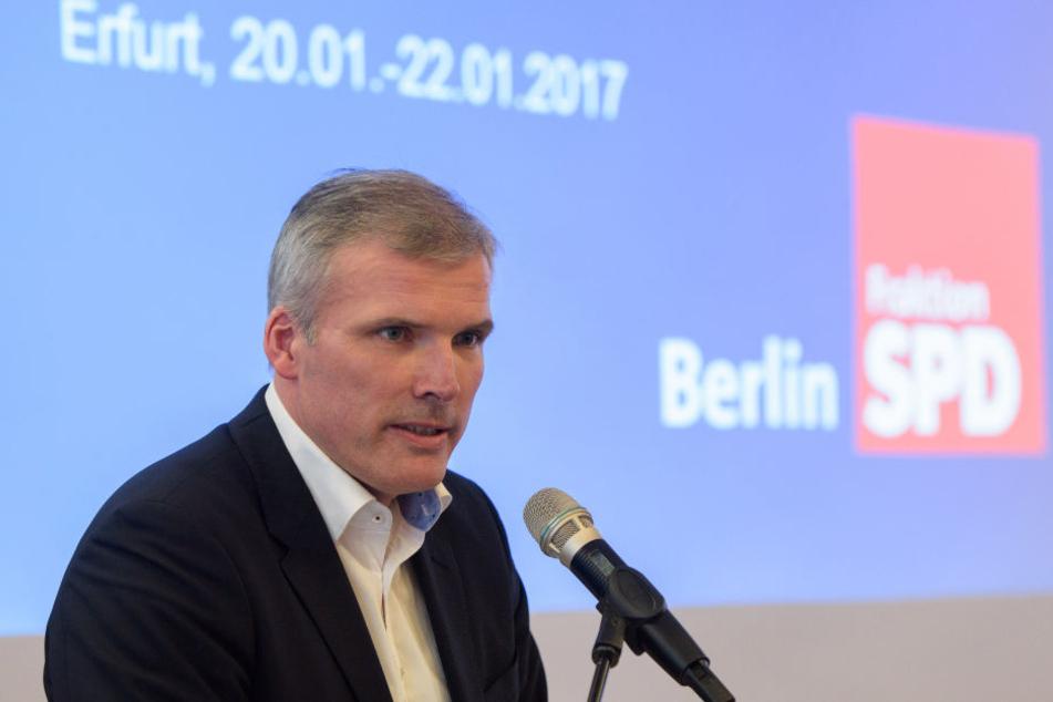 SPD-Landesvorsitzender Andreas Bausewein ist enttäuscht von der Entscheidung Rosins.