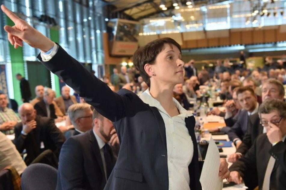 84,5 Prozent! Petry als AfD-Landeschefin bestätigt