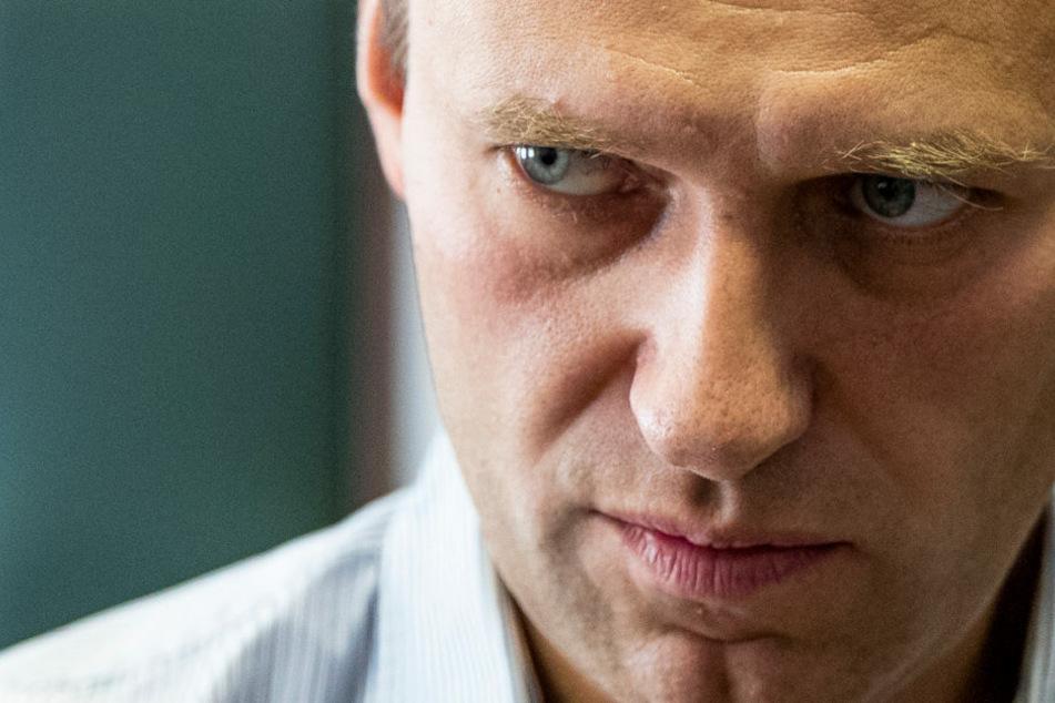 Alexej Nawalny (44) wird seit dem 22. August 2020 von Spezialisten in der Berliner Charité behandelt. Nun wurde ein chemischer Nervenkampfstoff zweifelsfrei als Ursache für die Vergiftung identifiziert. (Archivfoto)