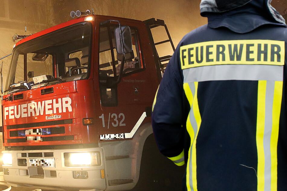 Die Feuerwehr fand den toten 76-Jährigen in dem brennenden Haus (Symbolbild).