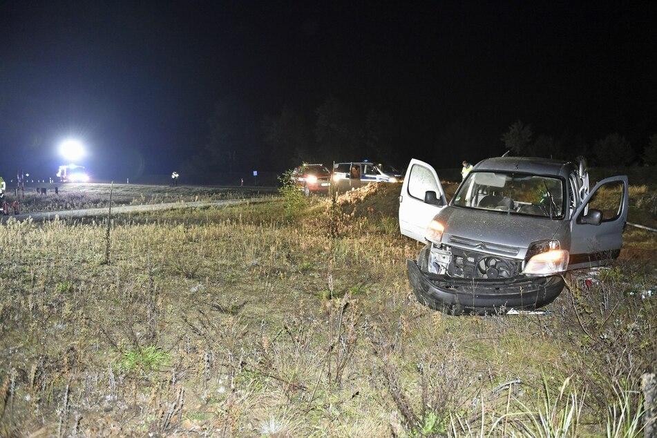 Das Auto hatte ein Totalschaden.