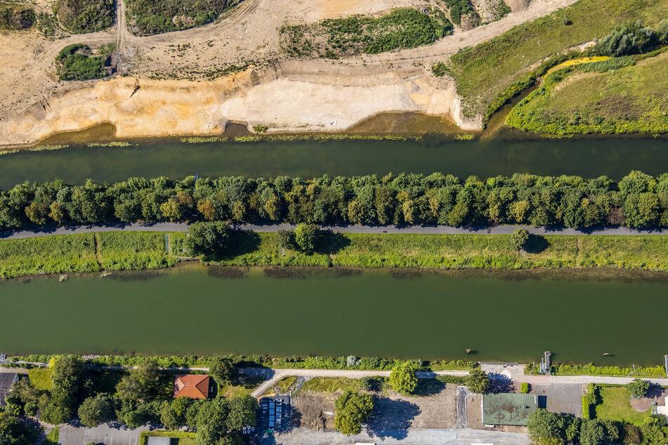 Der 20-Jährige wollte den Datteln-Hamm-Kanal in Lünen durchqueren und starb. (Archiv)