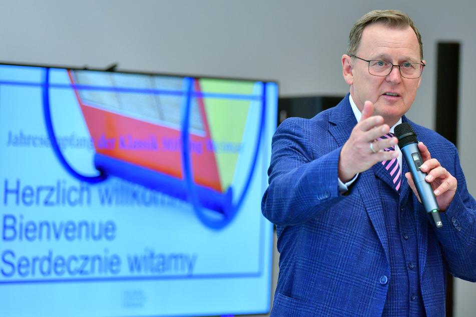Thüringens Ministerpräsident Bodo Ramelow (65, Linke) bildete nach seiner Wahl im Jahr 2014 die erste rot-rot-grüne Koalition auf Landesebene. Ein solches Bündnis soll Deutschland - wenn es nach Ramelow geht - nach der Bundestagswahl im September 2021 regieren.
