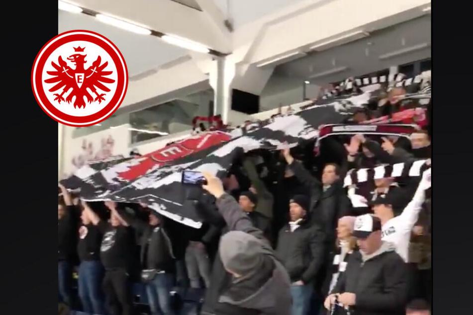 Kein Fußball? Kein Problem! So vertrieben sich die Eintracht-Fans nach Spielabsage die Zeit