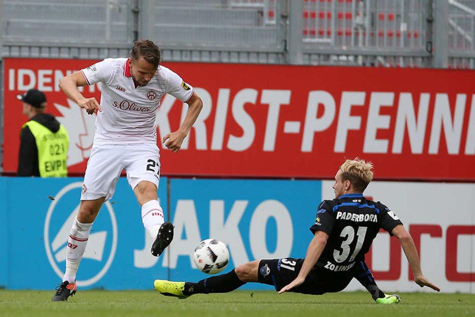 Die Mannschaft von Steffen Baumgart warf sich in jeden Zweikampf.