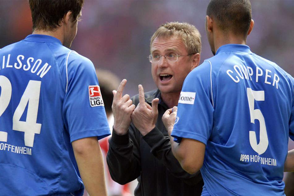 Ralf Rangnick kennt Per Nilsson aus der gemeinsamen Zeit bei Hoffenheim.