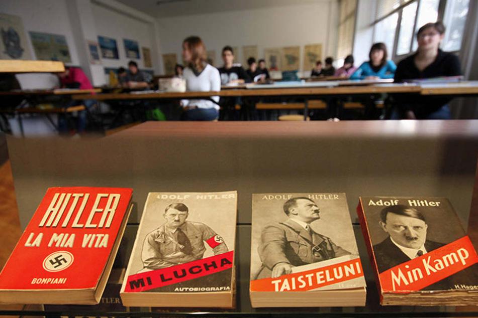 """Bei einer Umfrage wählten die Schüler """"Mein Kampf"""" zu ihren Lieblingsbüchern."""