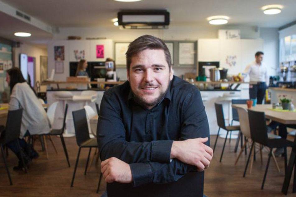 Einer der drei Lovoo-Geschäftsführer, Benjamin Bak.