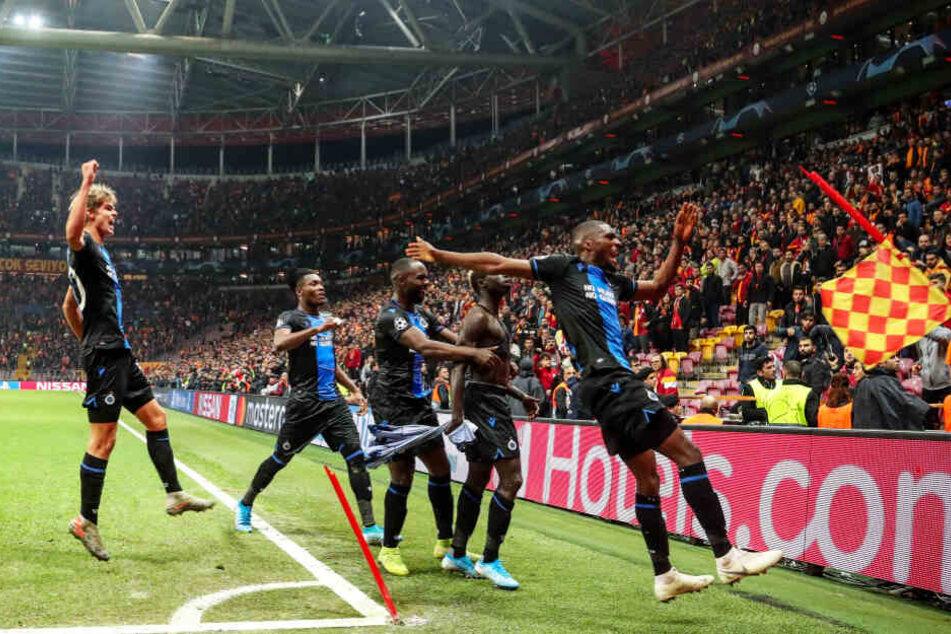 Irre! Brügge kassiert in der Champions League nach eigenem Tor zwei Platzverweise