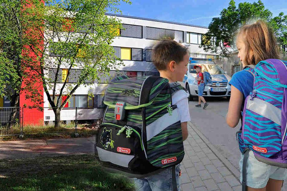 Neue Schule für die Großen, Polizeischutz für die Kleinen