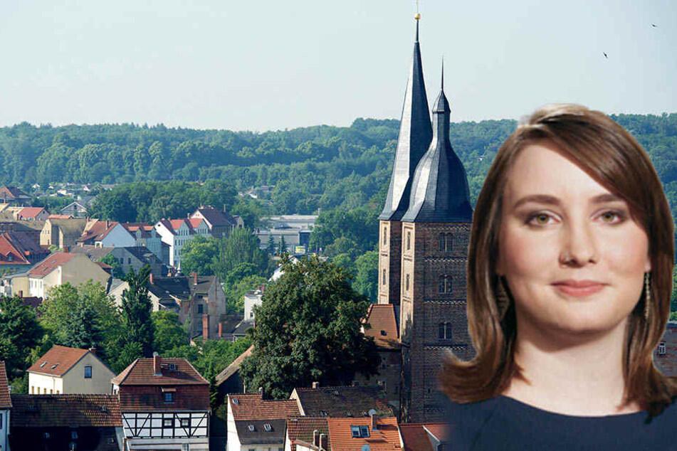 Die Leipziger SPD-Stadträtin Katharina Schenk will ins Altenburger Rathaus einziehen. (Archivbild)