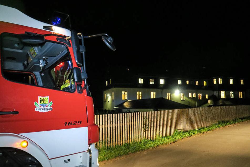 Brand in Jugendheim: Acht Kinder in Klinik