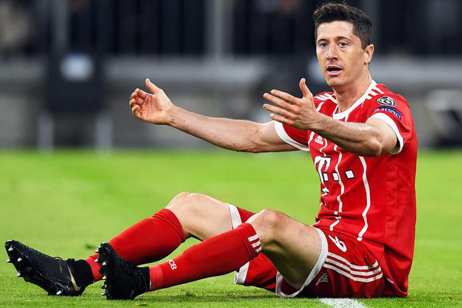 Robert Lewandowski möchte den FC Bayern München trotz laufenden Vertrages verlassen.