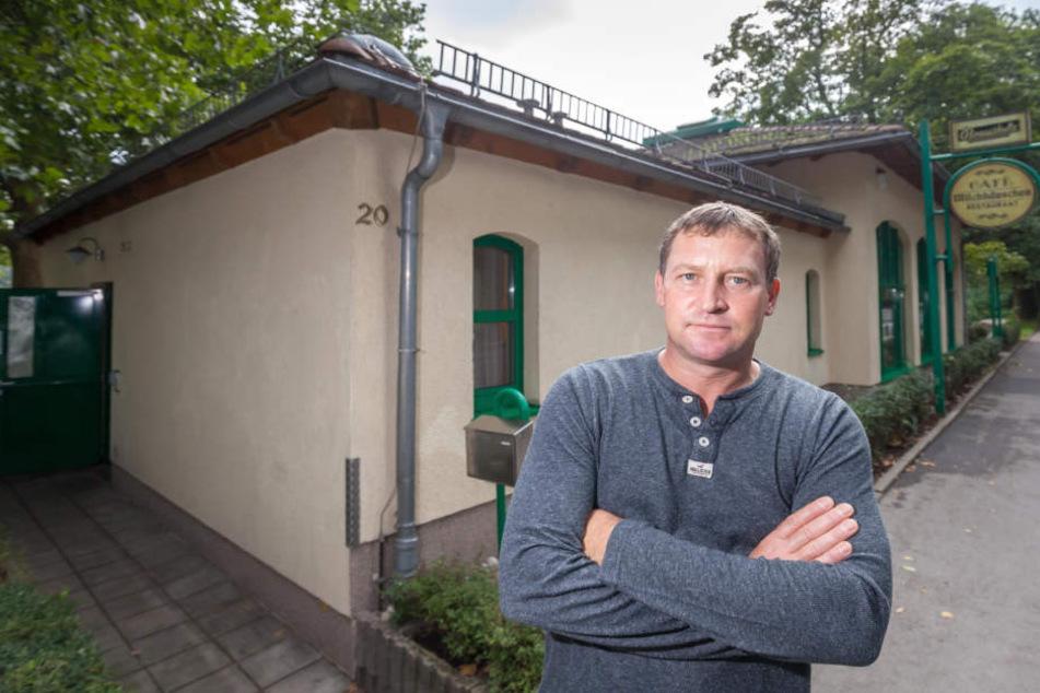 Milchhäuschen-Betreiber Falko Hirsch (43) (Archivfoto).